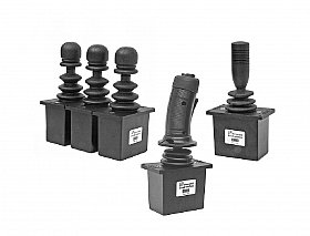 JOYSTICKS - CURRENT CONTROL FOR VARIABLE DISPLACEMENT PUMPS